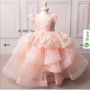 One dress blush color